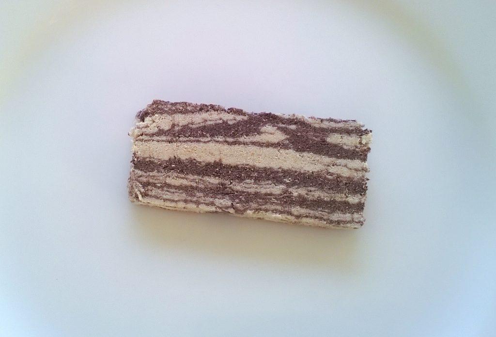 Slice of Halva with Cocoa by Haitoglou Bros.