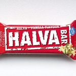 Packaging of Halva - Vanilla Flavour by Haitoglou Bros.