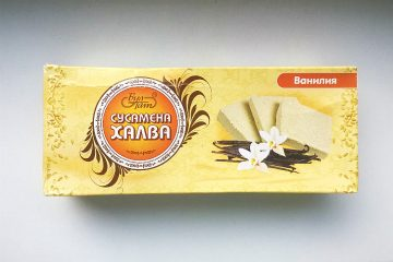Packaging of Sesame Halva Vanilla by Bul-Tat