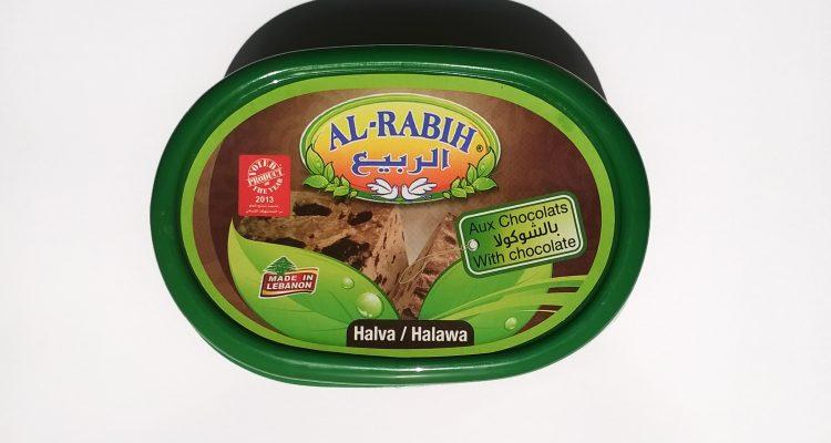 Packaging of Al-Rabih halva with chocolate