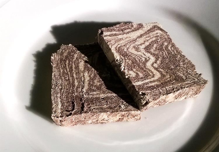 Halva with cocoa by Argoudelis
