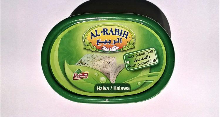 Packaging of Al-Rabih halva with pistachios