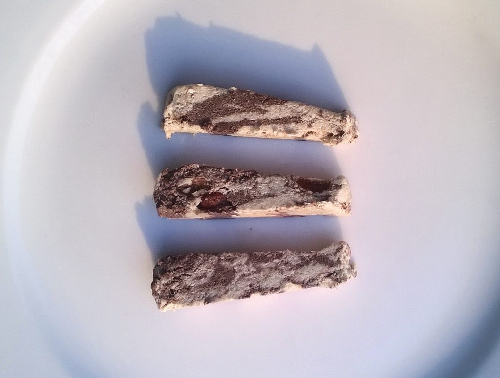Three slices of Halva Royal by Kranaos