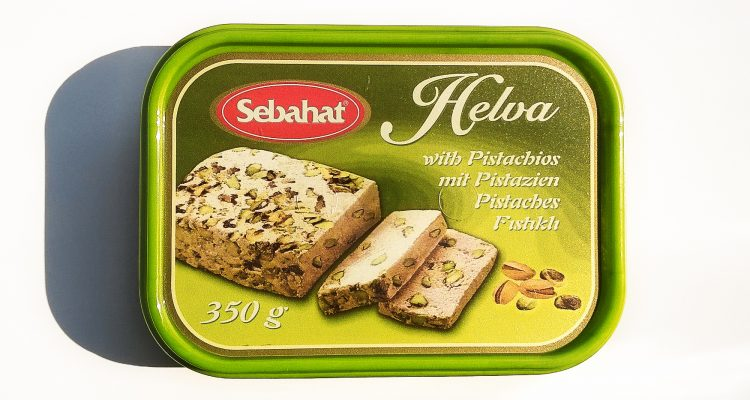 Packaging of Helva with pistachio by Sebahat