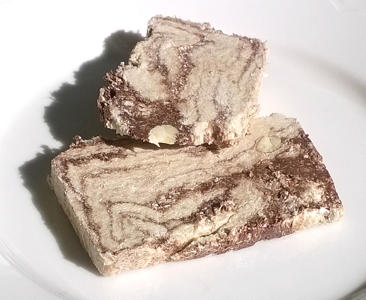 Picture of Halva with Chocolate & Almonds by Halvas Drapetsonas
