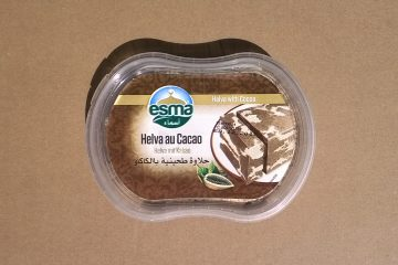 Packaging of Halva with Cocoa by Esma