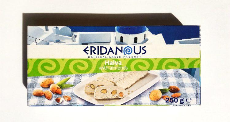 Packaging of Eridanous Halva with Almonds