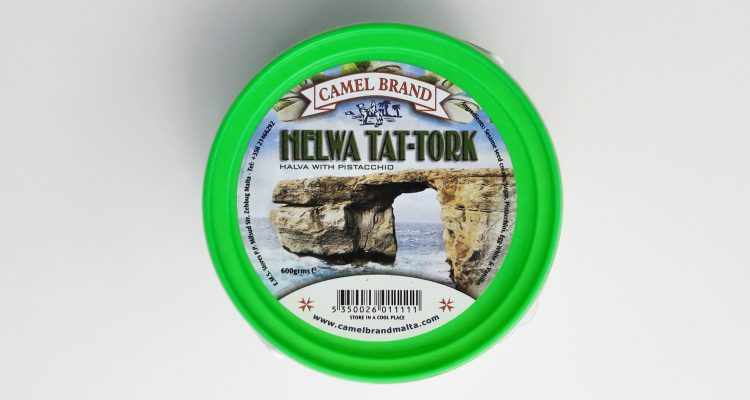 Packaging of Helwa Tat-Tork with Pistachio