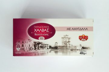 Packaging of Halva with Almonds by Mezap