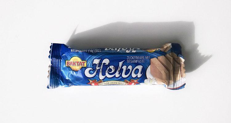 Packaging of Vanilla flavoured halva by Baktat