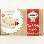 Packaging of Almond Halva by Attiki