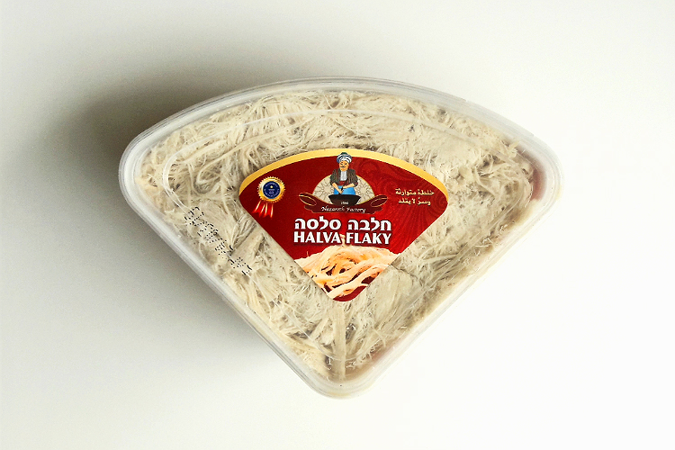 Picture of Halva Flaky by Nazareth Factory packaging