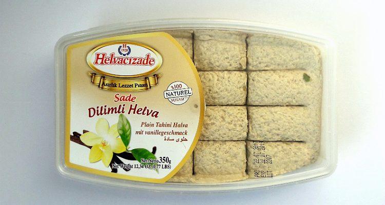Packaging of Plain Tahini Halva by Helvacizade