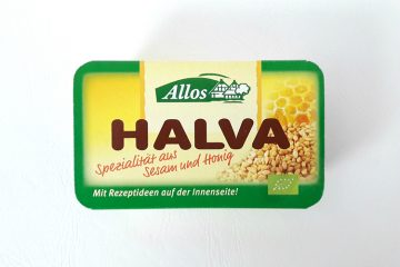 Packaging of Allos Halva