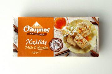 Packaging of Olympos Halva Honey & Cinnamonby Papayianni Bros