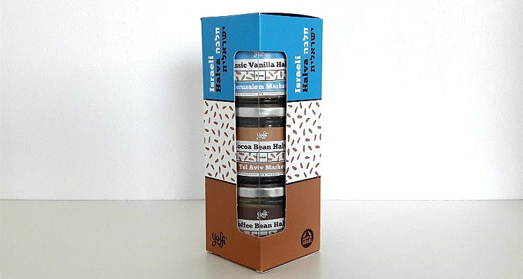 Packaging of Israeli Halva by Yoffi