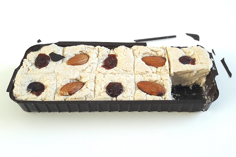 Picture of Targovishte Sesame Halva with Almonds and Cranberries (in the tray)