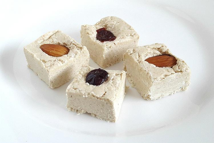 Picture of Targovishte Sesame Halva with Almonds and Cranberries