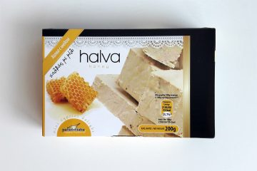 Packaging of Paradosiaka Halva with Honey